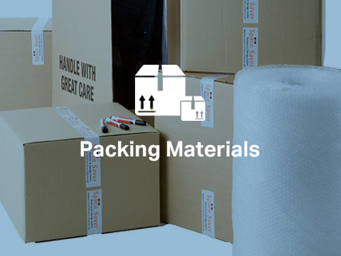 Find out more – Packing Materials