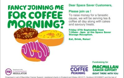Space Saver's Coffee Morning